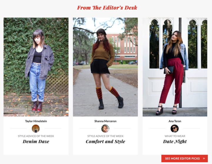My Latest CollegeFashionista Article Is Up